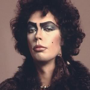 Tim Curry as King of the Goblins in Labyrinth - Originally played by David Bowie , yeah yeah i get it fantasy-fans but you have to admit Tim Curry would have been 1. creepier-licious, 2.sexier-tastic. HE PLAYED PENNYWISE FOR PITY'S SAKE