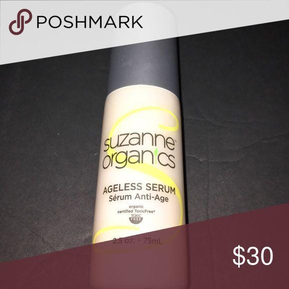 Suzanne Organics Ageless Serum Suzanne Organics Ageless Serum anti aging 2.5oz Makeup