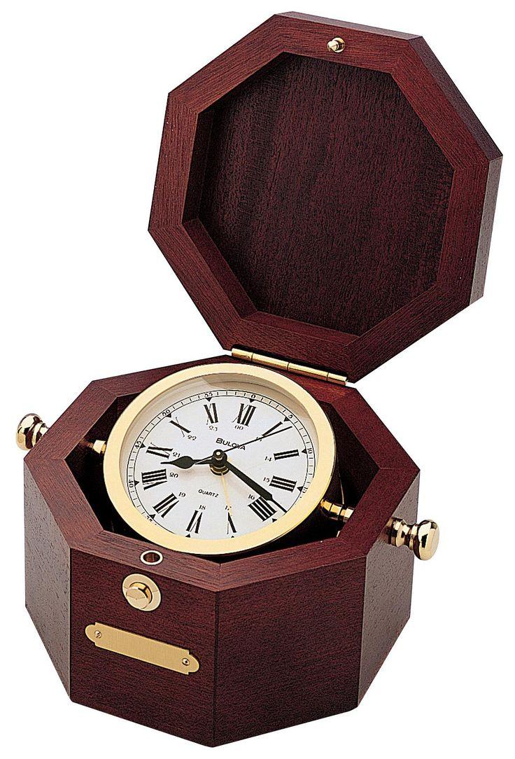 Bulova Quartermaster Maritime Clock -