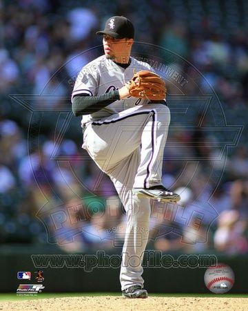 Chicago White Sox - Hector Santiago Photo