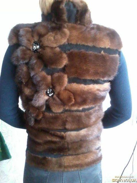 Купити Норковая жилетка в Україні