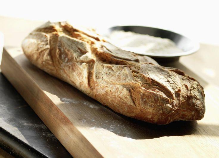 Craquez pour notre pain fait maison. #Intermarché #Pain #Cooking #Blé
