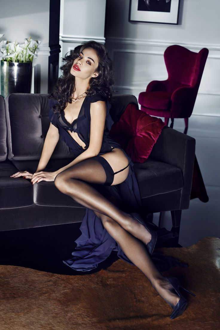 Lingerie Lover in Black. ..my kinda lady..my kinda look..my kinda style..hot and sexy too...mmm