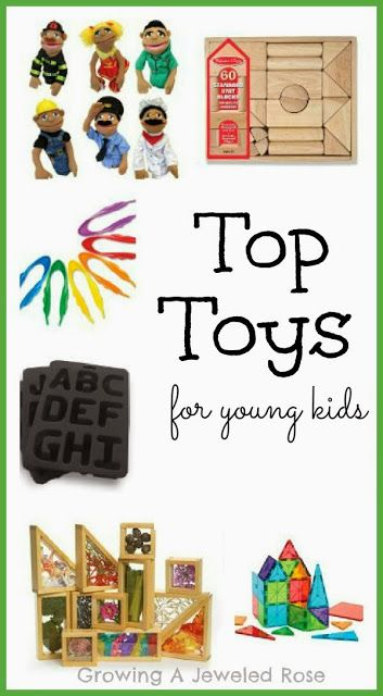 The top toys for young kids {Toys that kids love & will actually play with regularly!}