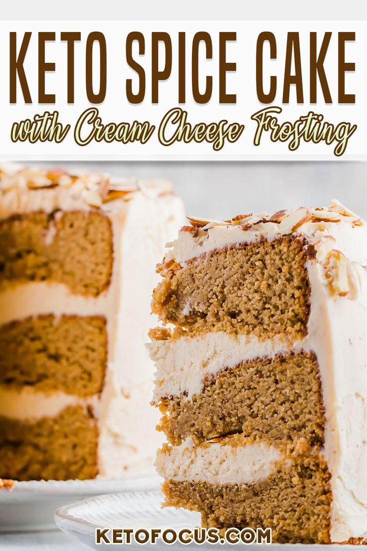 Jul 10, 2020 – All the flavors of Fall infused into one moist and tender low carb cake. This spice cake is phenomenal wh…