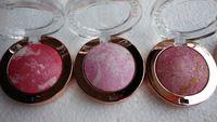 2pcs / lot Moda Belleza Cara Blush cosméticos del maquillaje se ruboriza polvo de cara larga duración minerales desnudos sonrojar 8 colores para elegir