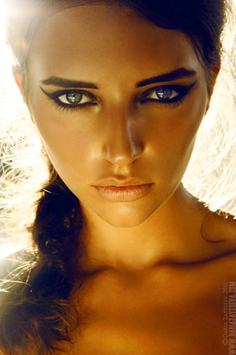 : Eye Makeup, Hot Makeup, Cat Eye, Angels Beautiful, Girls Photography, Dramatic Eye, Fashion Photography, Fashion Pictures, Daria Zaytseva