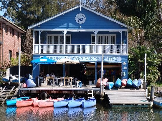 Woronora Boatshed - can stay in a B&B, hire a boat or have a bite to eat in the cafe