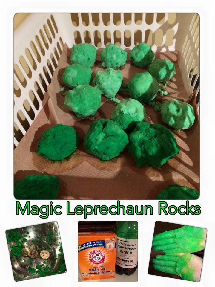 Come make Magic Leprechaun Rocks with Naturally Cracked. Watch as kids young and old alike enjoy this fun experiment that reveals a special treasure!