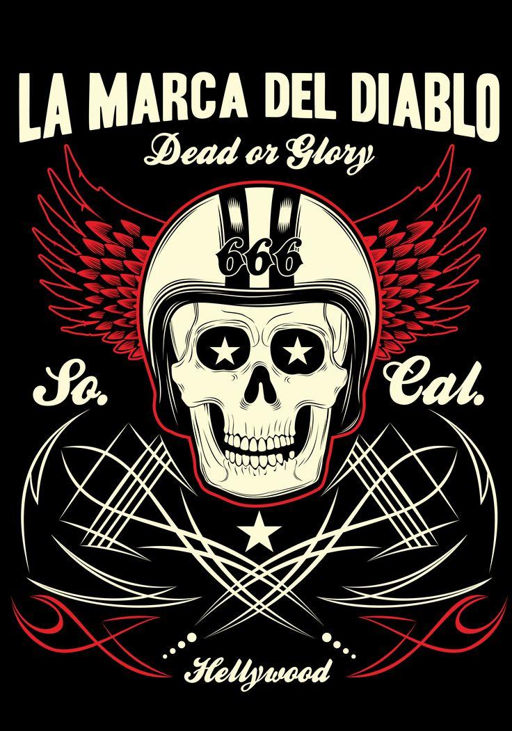 DEAD OR GLORY LA MARCA DEL DIABLO in 2020 Metal tattoo