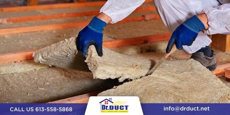 Too much, too little, or outdated insulation are some regular concerns when performing a home renovation. At Dr. Duct, we offer professional, safe, and affordable removal of attic insulation. We safely and responsibly remove insulation contaminated by moisture, asbestos, rodents, birds, or other animals. Call today for a free estimate! #InsulationRemovalOttawa
