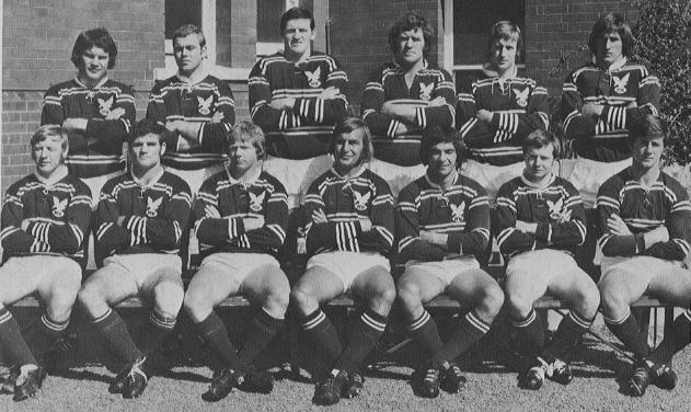 5. Ray Branighan 1972-78 (114 games)  Centre  I couldn't find a single shot of this guy. So I have used this team photo of the victorious 1972 Grand Final team. Ray is third from the right. He was one of a number of 1971 Rabbitohs poached along with team mate John O'Neill and moved across to Manly. He played 114 games for Manly between 1972 and 1978. He played in the victorious 1972 and 1973 Grand Finals for Manly as well as the 1978 Grand Final replay.