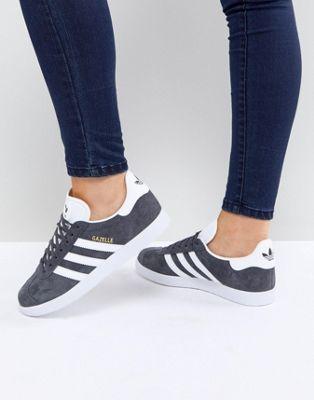 adidas women gazelle black shoes