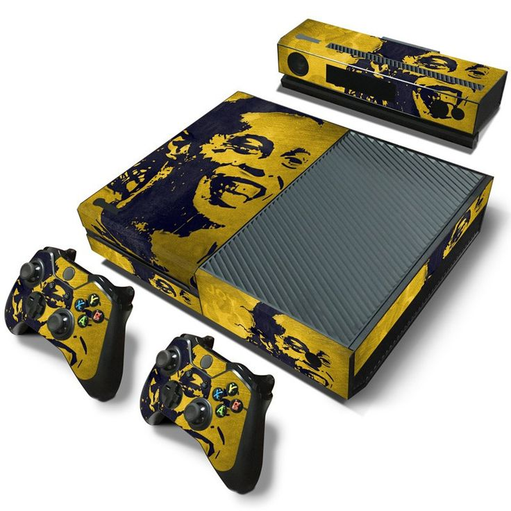 Love this!  http://www.hellodefiance.com/products/ronaldinho-skin-xbox-one-protector?utm_campaign=social_autopilot&utm_source=pin&utm_medium=pin