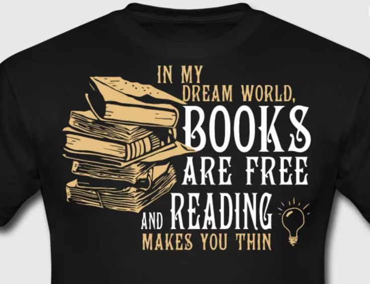 Dreamworld T-shirt for book lovers