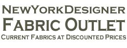 New York Designer Fabric Outlet. Designer fabrics and wallpapers at a discount.