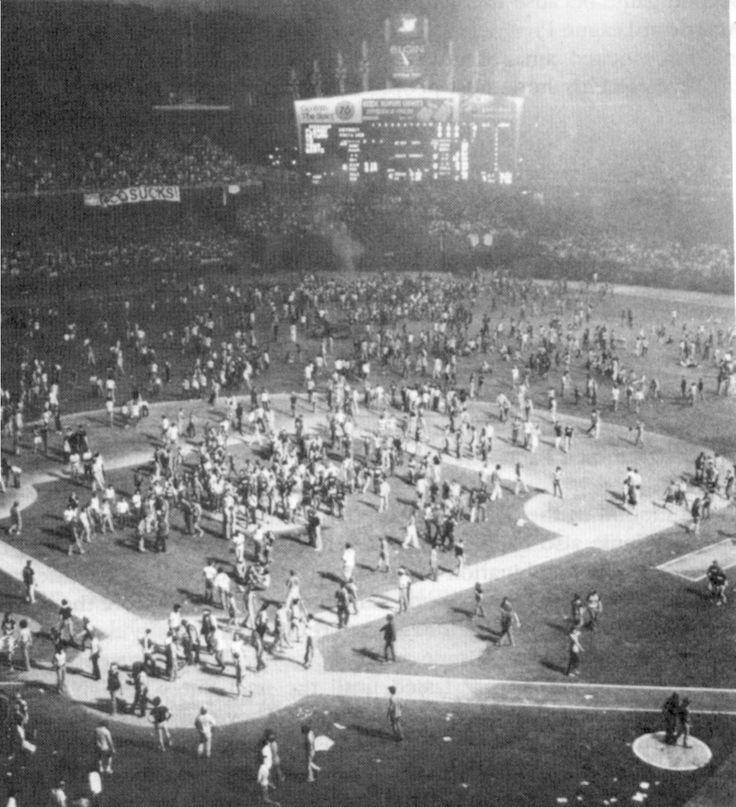 Disco demolition - Old Comiskey Park - 1979