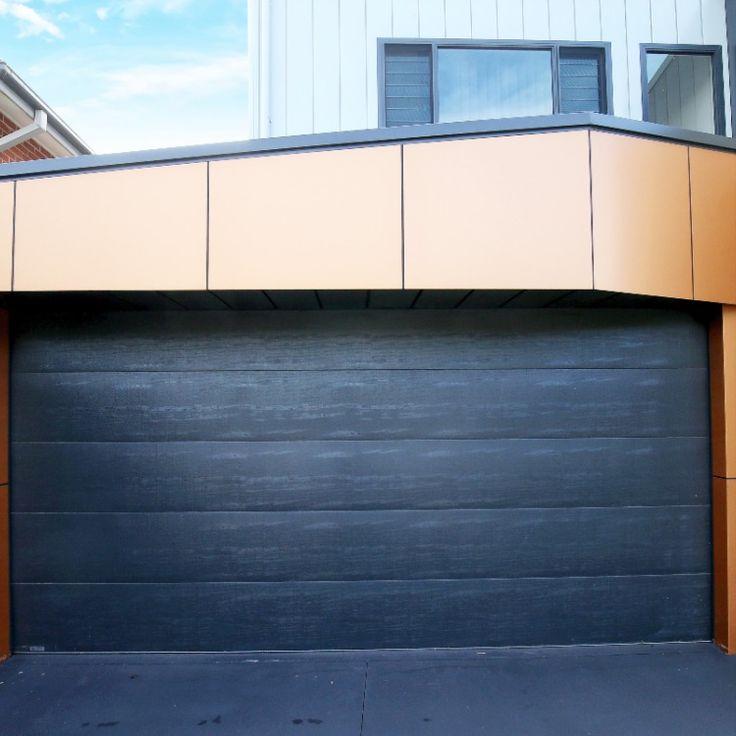 Dark Modern Garage Door Garagedeur