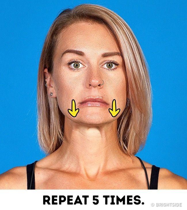 Yüzünüzü Gençleştirmek İçin Etkili 8 Egzersiz | Kombin Kadın