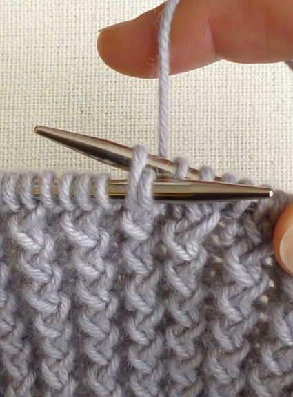 Tutorials for 'different' Knitting Stitches - for once I learn how to Knit! Lol