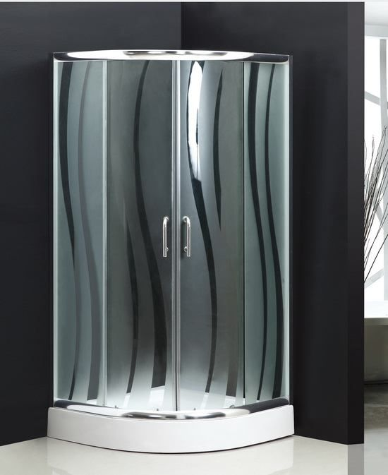 30 inch one piece shower stall