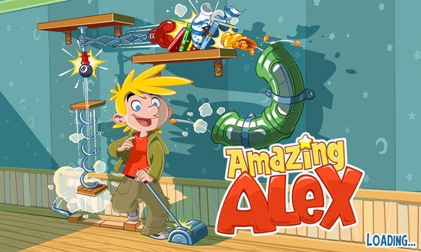 Amazing Alex fa il suo ingresso su Google Play in 3 versioni
