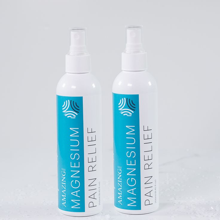 2 x 250ml Organic Magnesium Spray