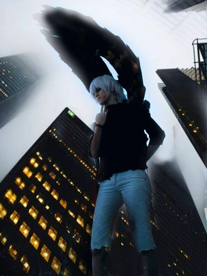 Kaneki Ken cosplay Tokyo Ghoul (Shikiyoru 2015)