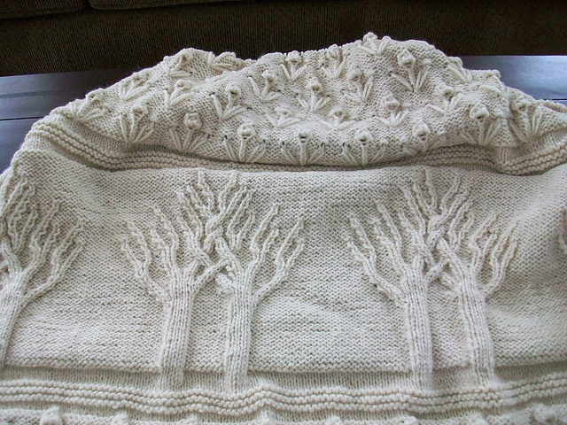 Free Knitting Pattern For Tree Of Life Baby Blanket : 17 Best images about Tree of Life... on Pinterest Merino wool, Aran knittin...