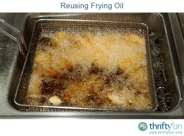 22+ What to do with old frying oil information