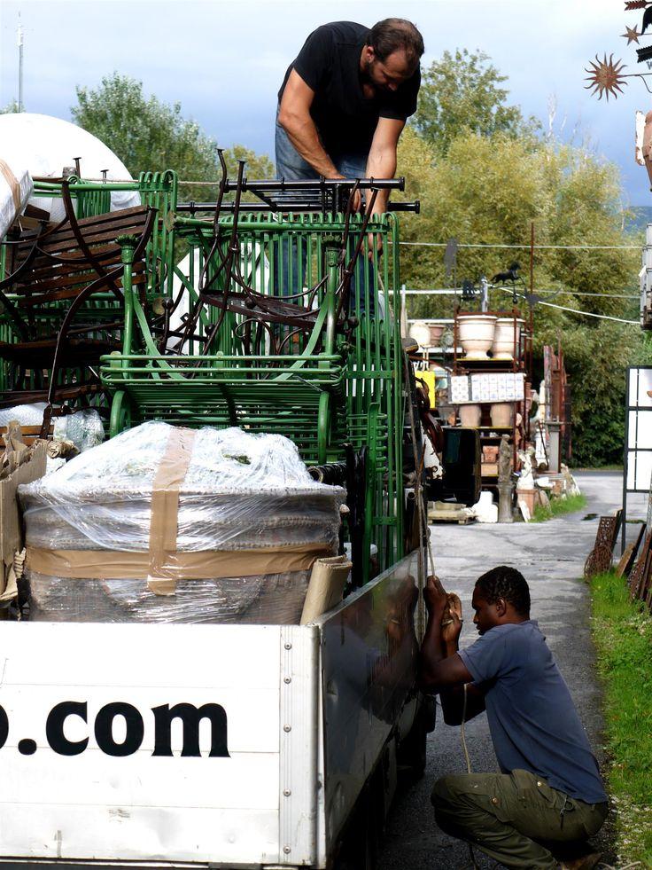 Orticolario EDIZIONE 2014 #orticolario2014. #recuperando WWW.RECUPERANDO.IT Truck loading 01/10/2014