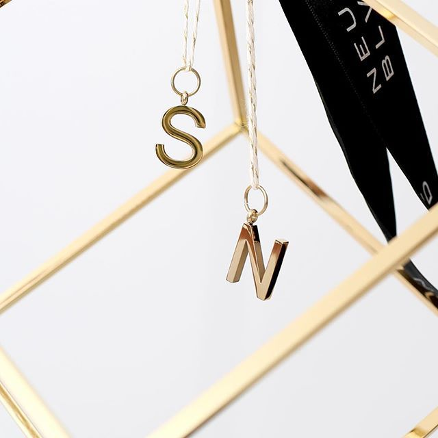 The perfect addition to any of our monogrammed leather key rings or key tags. Our charmed initials, available in gold and rose gold, are online now and ready to be shipped in time for Christmas 🎄 #getshopping #onlyseventeensleepstilxmas