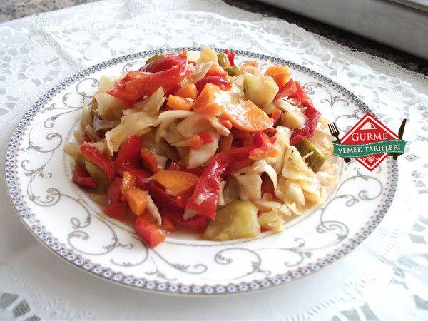 karışık yağlı turşu tarifi #yemektarifleri #recipes #food