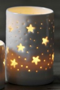 stars maxi tealight holder