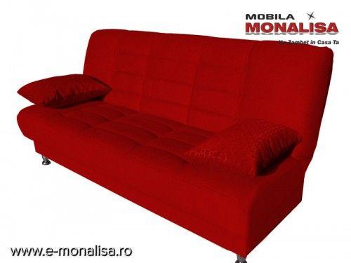 Canapea Extensibila 3 Locuri Vegas Red