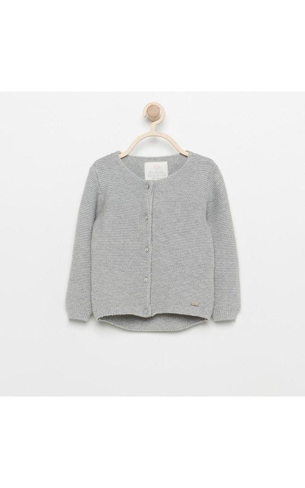Sweter dla dziewczynki, Ubrania, szary, RESERVED