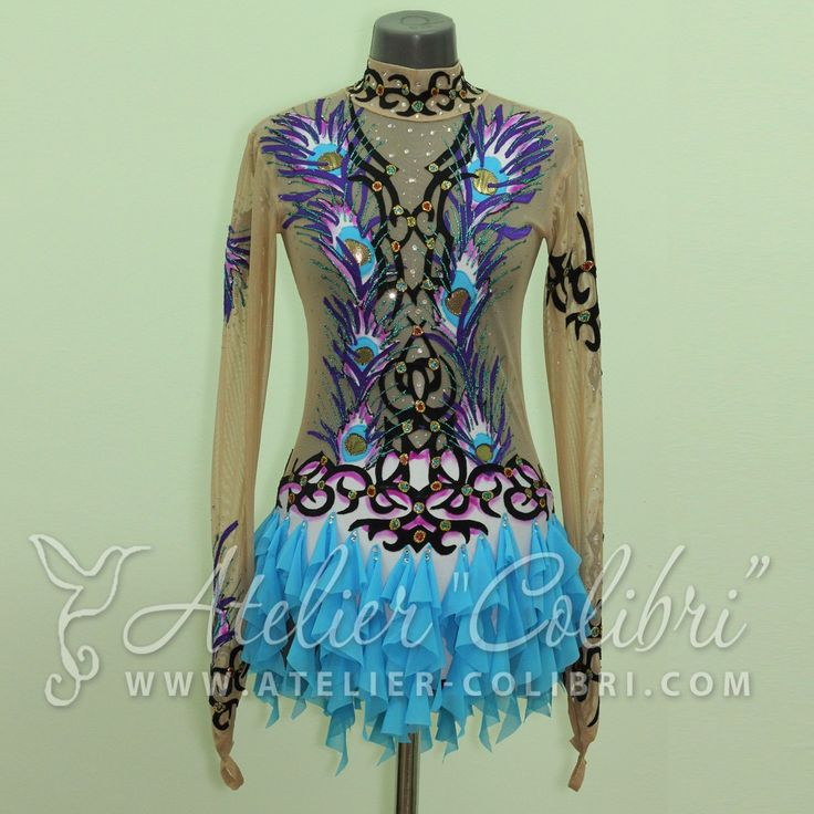 Atelier Colibri | Leotards for Rhythmic Gymnastics | ( Article : K_0090_6 )