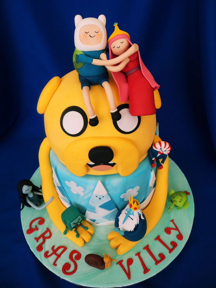 amazing Adventure Time cake!