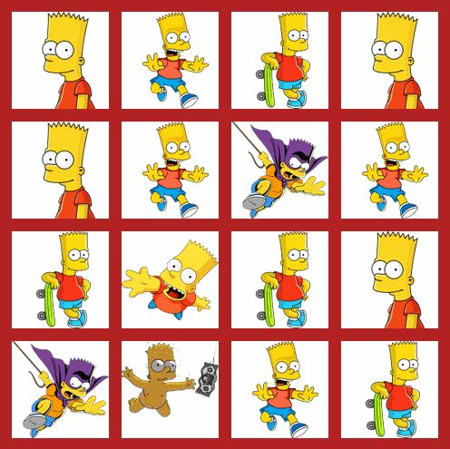Simpsons 2048 Game Online