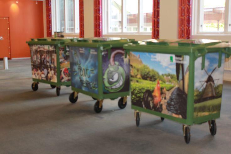 My bins tells a story about Odense.