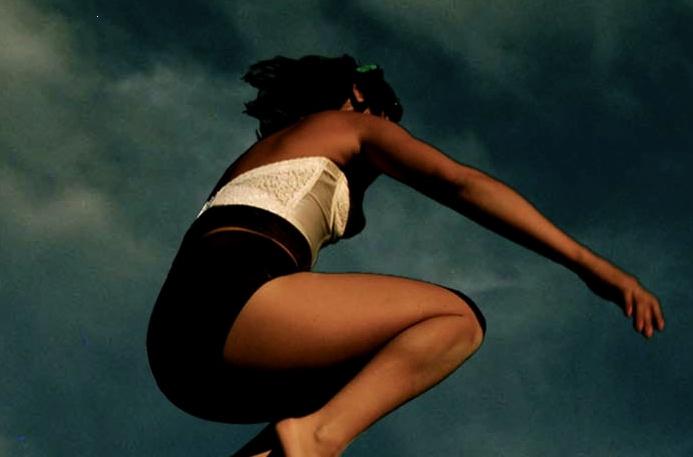 Meghan Currie (Balcony Yoga Barcelona) ~ flying dakini