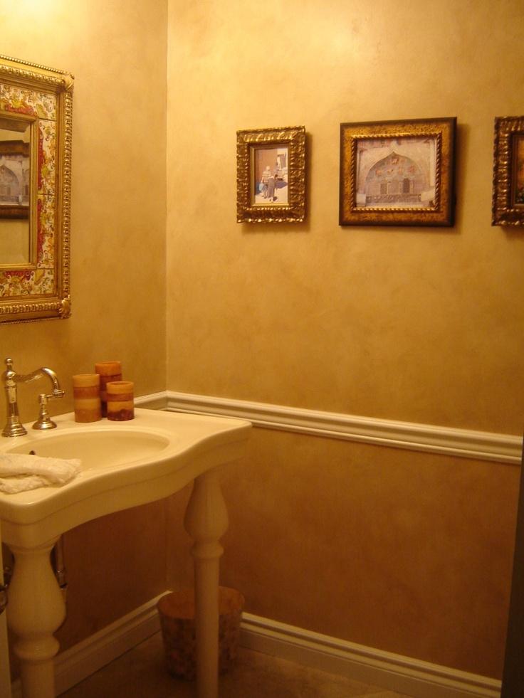 Glazed Wall Treatment Faux Finishes I 39 Ve Done