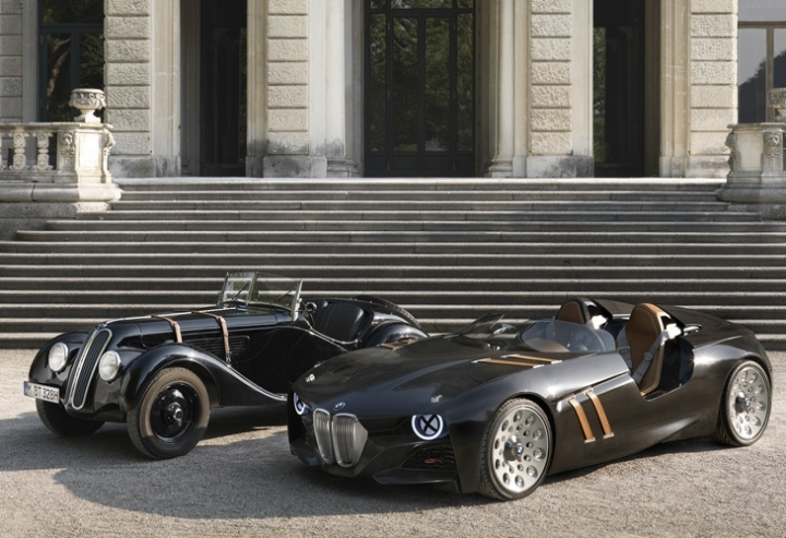 BMW 328, el clásico descapotado de los años 30, celebra sus tres cuartos siglos de vida con un nuevo un diseño deportivo, mucho más actual, tributo a su hermano mayor.