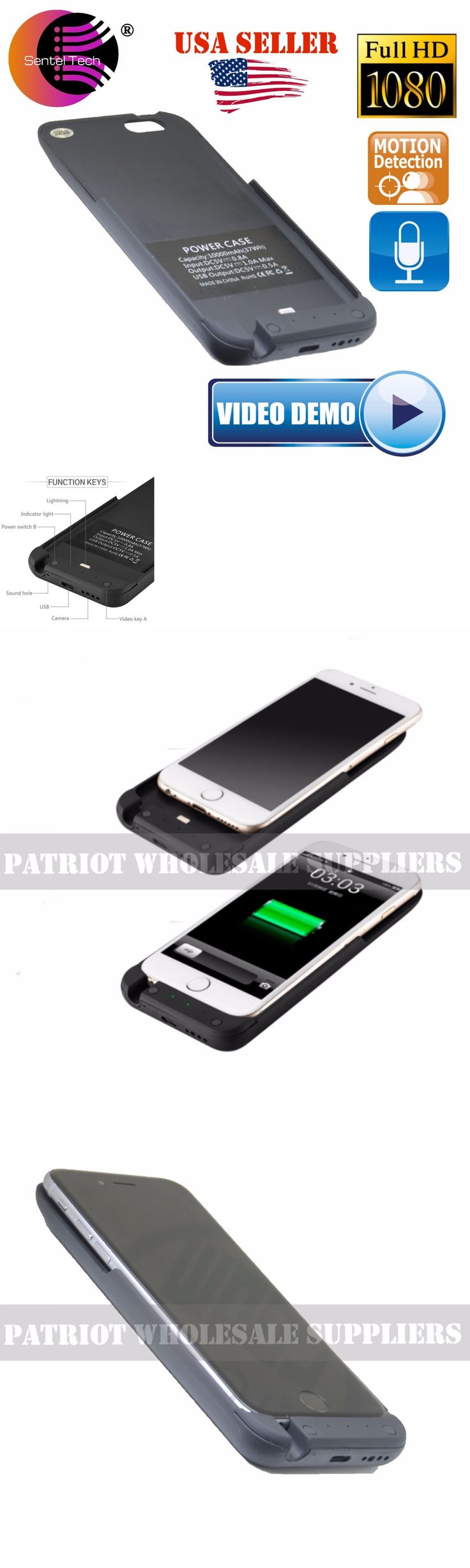 Surveillance Gadgets: 1080P Hidden Spy Camera Iphone Battery Case Ac Charger Dvr 32Gb Surveillance Pen BUY IT NOW ONLY: $99.99