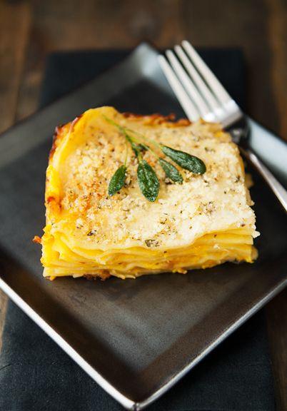 butternut squash lasagne recipe | use real butter