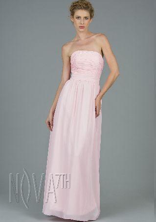 Evening Dress 2014 New Arrival Spring ShoulDered Pink Gown