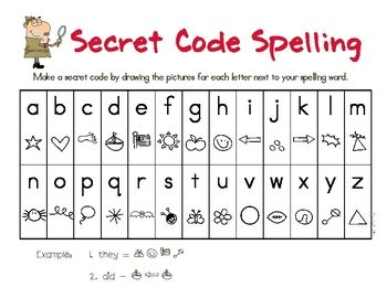 Use with your weekly spelling lists.  Student will write spelling words and then write them in