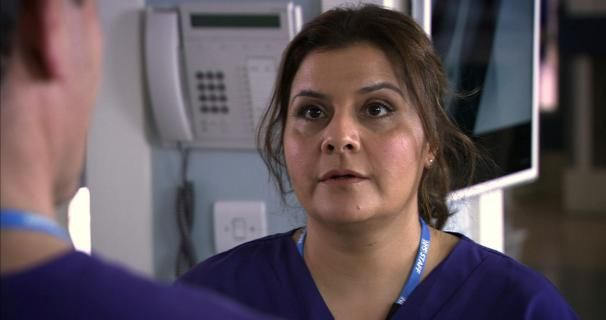 Nina Wadia as Annabelle Cooper in Holby City