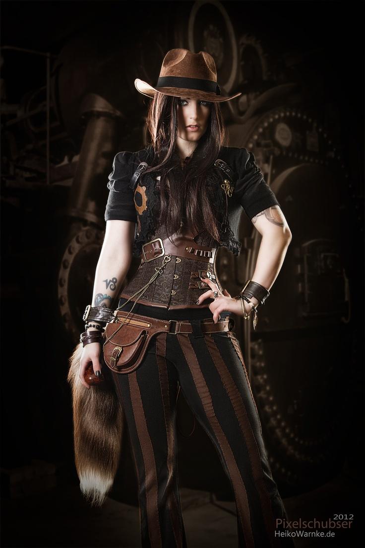 Steampunk gal. Photo by Heiko Warnke