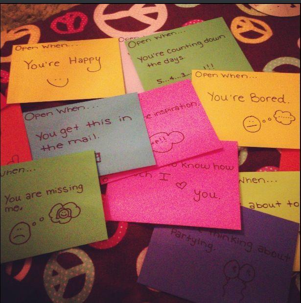 Open When Letters For Boyfriend List